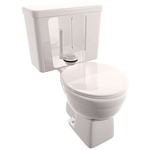 "hot sale 2017 Plumbcraft Toilet Flush Valve and Flapper - 3"", Fits Most Toilet Tanks With 3-Inch Flush Drains"