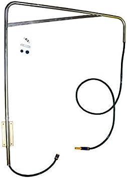 ESTRUCMADER - Ducha giratoria lavadero para Caballos, galvanizado en Frio