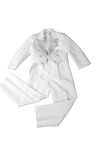 MLT Boy's Long Swallow-tail 3-piece Wedding Party Suits (XL) by MLT