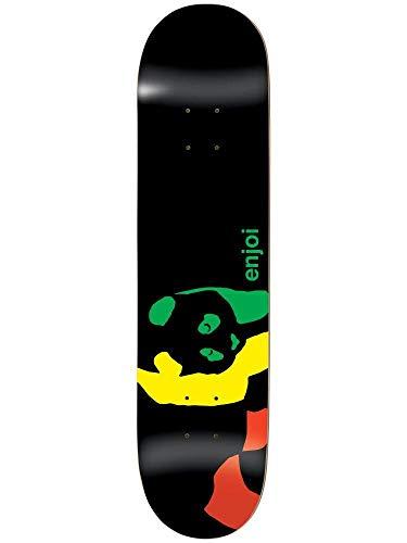 Enjoi Rasta Panda R7 Skateboard Deck