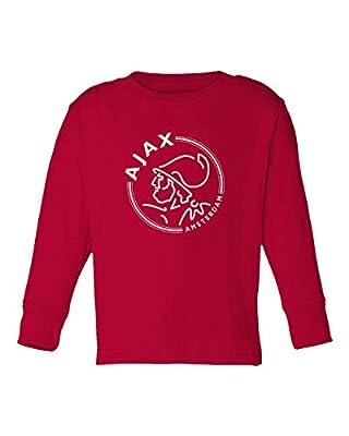 Spark Apparel New Soccer Amsterdam Toddler Long Sleeve T-Shirt