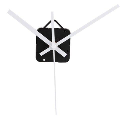 Quartz Clock Movement Mechanism White Hands DIY Repair Parts Kit