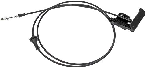 (APDTY 023185 Hood Release Cable with Handle For 2002-2004 Chevy S10 Pickup / 2002-2005 Chevy S10 Blazer / 2002-2004 GMC S15 Sonoma Pickup (Replaces GM Part #: 15097973))