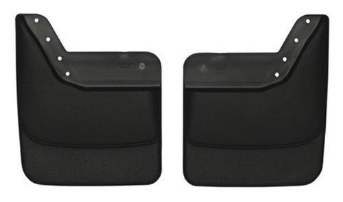 Husky Liner 57291 Molded Rear Mud Flaps 95-04 Chevy Blazer S10 GMC (S10 Mud Flaps)
