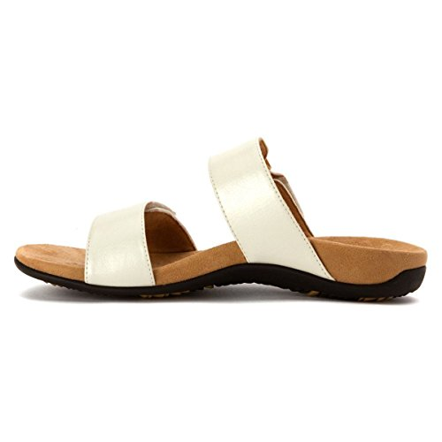Vionic Womens Rest Camila Synthetic Sandals White