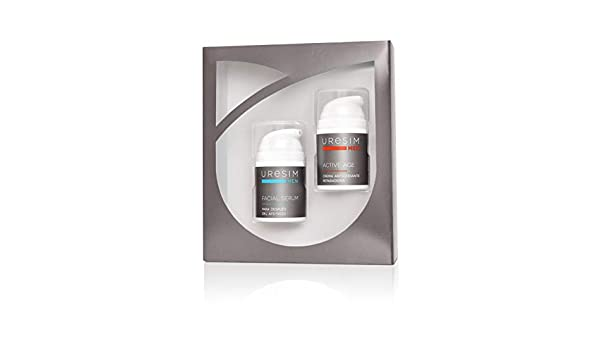 Uresim Uresim Beauty Pack Hombre Crema+Serum 1 Unidad 200 g, Blanco: Amazon.es