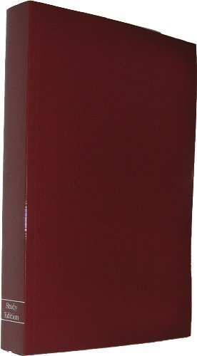 The Anonymous Press Study Edition of Alcoholics Anonymous by Anonymous Published by The Anonymous Press 2nd (second) edition (2009) - Alcoholics Leather Anonymous