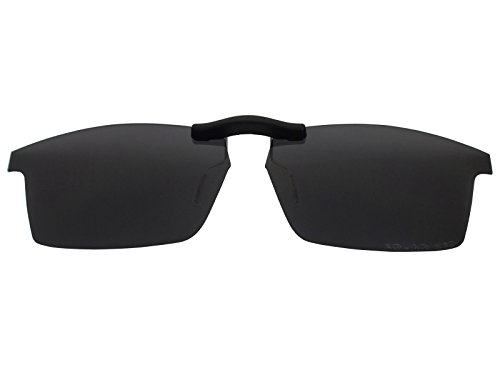 Custom Fit Polarized CLIP-ON Sunglasses For Oakley Pitchman (53) OX8050 53X18 - Affiliate Sunglasses