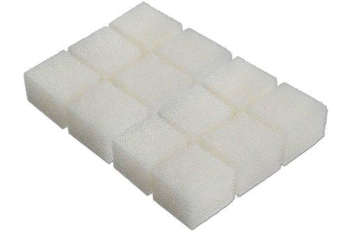 Generico-Nuovi 12 Filtri in Spugna Pad adatta a Aqua Clear 20 / Mini AquaClear(12 pezzi inclusi) HuaxinYicheng Trade Co. Ltd.