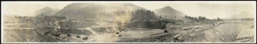Photo Bonneville Dam, Aug. 25, 1934, 11:14 A.M. 1934