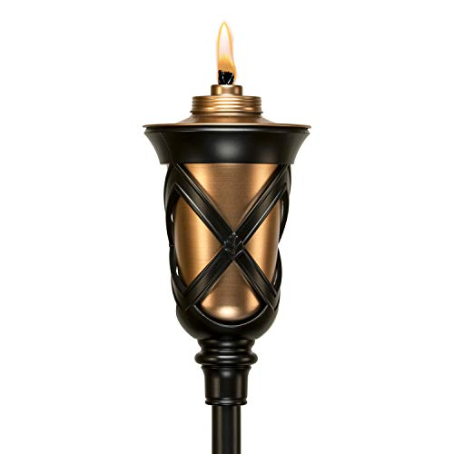 Tiki Brand 1118038 61-inch Province Metal Aged Copper Torch, 61.38