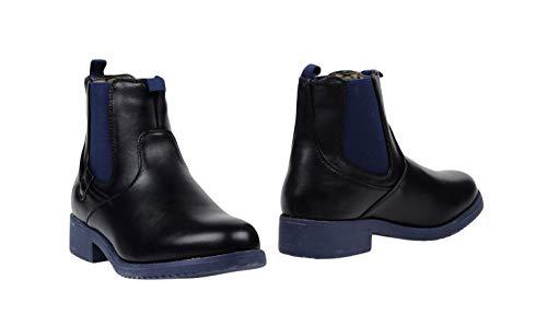 Stivale New Boots Chelsea w Black St172 Blue Similpelle Jersey 414 Avirex BUwq0R1
