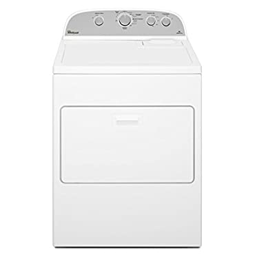 Whirlpool WED4915EW 7.0 cu. ft. Top Load Electric Dryer with Hamper Door