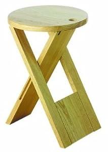 High Quality Sturdy Natural Rubberwood Wooden Folding Stool/Seat- Kitchen Home  sc 1 st  Amazon UK & High Quality Sturdy Natural Rubberwood Wooden Folding Stool/Seat ... islam-shia.org