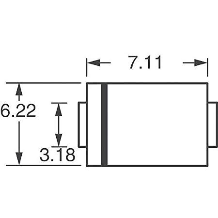 SMCJ8.5CA-13 TVS DIODE 8.5V 14.4V SMC Pack of 10
