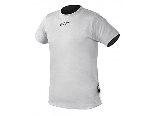 Alpinestars (475440-19-M Silver Medium Nomex Short Sleeve Top