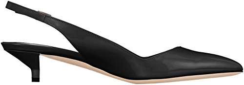 HUGO Women's Hellia p 35 Sling Back Sandals Black (Black 001) official site for sale outlet professional zYsjjMSm
