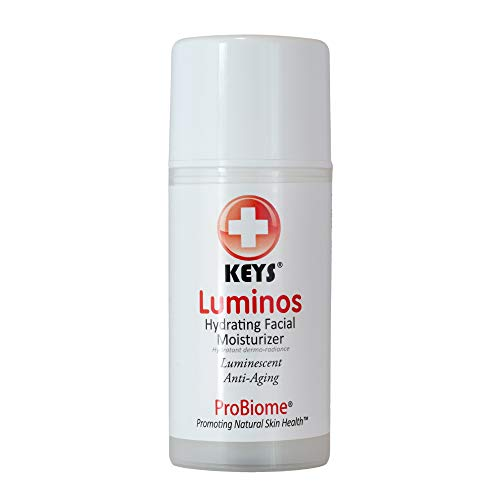 Keys Care Luminos Hydrating Clear Natural Moisturizer - Makeup Base For Radiant Skin - Anti-Aging & Treats Discoloration For All Skin Types