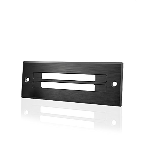 AC Infinity Ventilation Grille, for PC Computer AV Electronic Toe-Kick Cabinets, Slim Low-Profile by AC Infinity