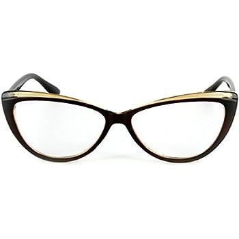 Amazon.com: Athena Place - Cat Eye Fashion Reading Glasses