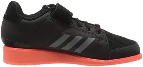 Adidas Herren Power Perfect Iii. Sneaker, Core Black Night Met Signal Coral, 38 EU