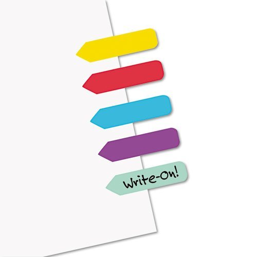 Redi-Tag Mini Arrow Page Flags, Blue/Mint/Purple/Red/Yellow, 154 -