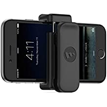 mophie Universal Belt Clip for iPhone 6/6s iPhone 6 Plus/6s Plus, iPhone 5s/5s/5c/5 - Black (Certified Refurbished)