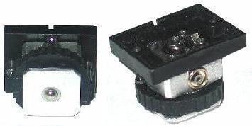 Vivitar 283 285 285HV Flash Metal Replacement Foot NEW