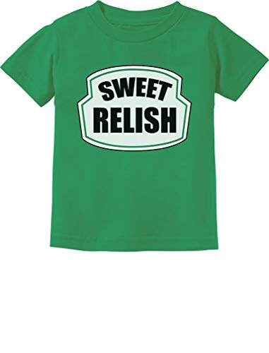 Sweet Relish Green Pickled Cute Easy Halloween Costume Infant Kids T-Shirt 18M Green -