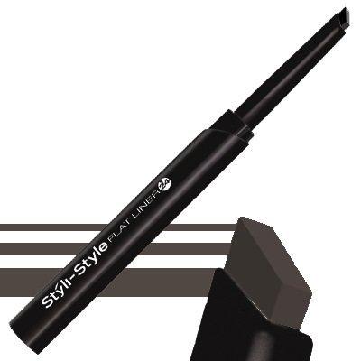 Styli-Style Flat Eye Liner 24 Soft Black