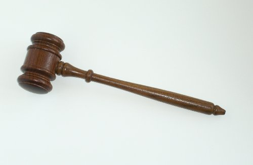Gavel Authentic Walnut - Made in USA