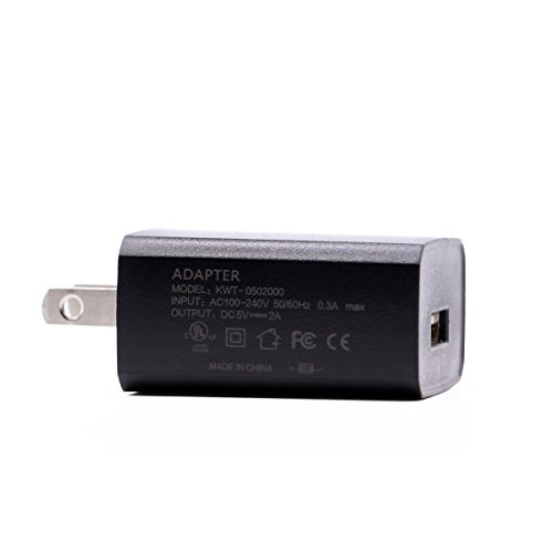 [UL Listed] Extra Long 5 Ft 2A AC Adapter Rapid Power Charger for Amazon Kindle Fire