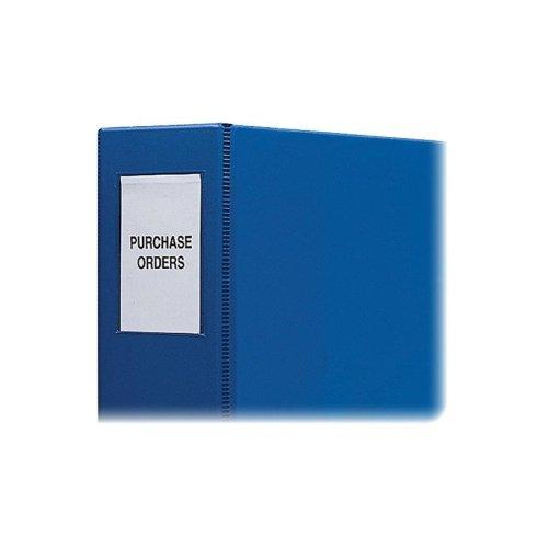 C - 라인 자체 접착 바인더 라벨 - 자체 접착 바인더 라벨, 2 -3 바인더, 12 PK, 투명의 도매 사례/Wholesale CASE of 25 - C-Line Self-Adhesive Binder Labels -Self Adhesive Binder Labels, 2 -3  Binder, 12 PK, Clear