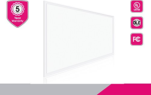 2 Pack NEOX LED Panel 2x4 Edge-Lit Flat Troffer 40W 4000K 4200lm Dimmable UL & DLC Listed (Only 65.00 per Fixture)