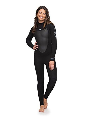 Roxy Womens 3/2Mm Prologue - Back Zip Wetsuit - Women - 8 - Black Black ()