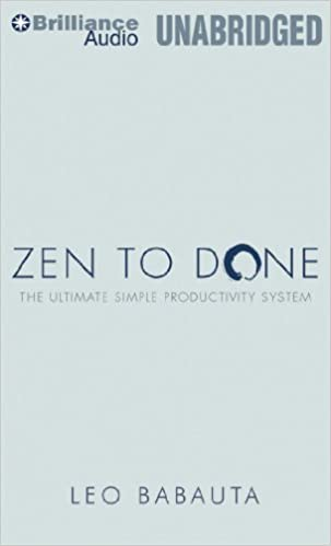 to book zen done audio