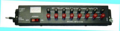 MFJ-1116 Power strip, 15A, 8 outputs 15a Output