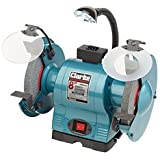 Clarke CBG8370L 8' bench grinder with lamp