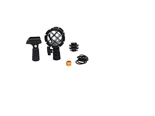 Foitech 5-in-1 Kit Camera Microphone Shockmount Holder Clip