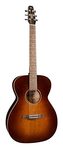 Seagull S6 Original Slim Concert Hall Burnt Umber QIT Acoustic-Electric Guitar