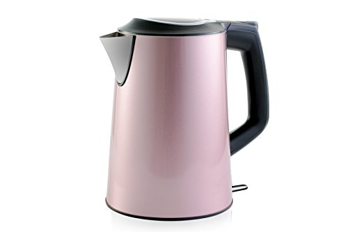 Cordless Stainless Steel Electric Kettle with 100% Plastic-F