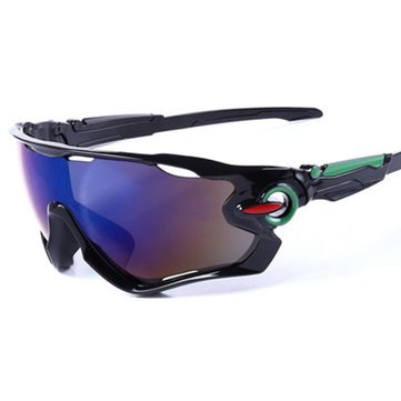 Sunglasses & Sports Glasses - Uv400 CyclingSportsRide Glasses Eyelids Outdoor Mountain Bike Glasses - - Marine Sunglasses West