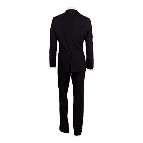 CALVIN KLEIN Costume Homme Bleu marine rayé - Noir - 56  Amazon.fr   Vêtements et accessoires d6ab5f4ae0a