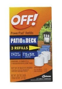 (Off PowerPad Mosquito Lamp Refill (pack of)