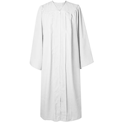 GGS Unisex Adult Choir Robe Matte Confirmation Robes Christening Attire for Baptism/Church - Choir Gown