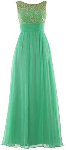 Gown Party Minze Prom Long Women Lace MACloth Evening Dress Chiffon Wedding Formal 1PSv0wxqw6