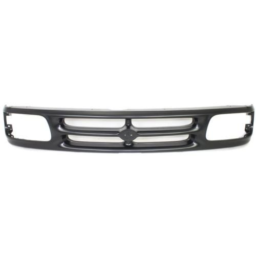 Perfect Fit Group 1616 - Mazda Pickup Grille, Painted-Black, Base/ Se Models