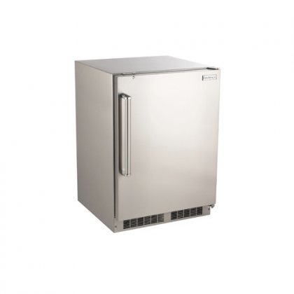New Outdoor Rated Right Swing Refrigerator with Handle by Fire Magic