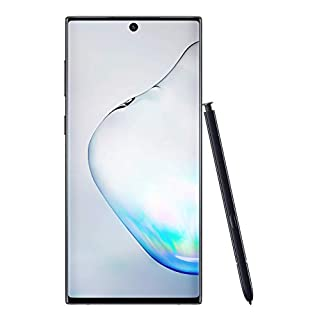 Samsung Galaxy Note 10 Factory Unlocked Cell Phone with 256GB (U.S. Warranty), Aura Black/ Note10