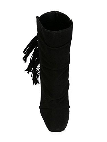Bottines Suède Design Zanotti Noir 5708561629 Giuseppe Femme THCYvznW